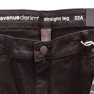 Black Butter Straight Average Jeans Avenue